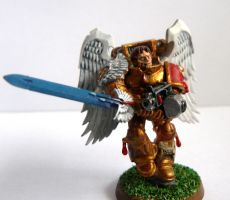 Re-painted Sanguinary Guard by ReinoutJansen