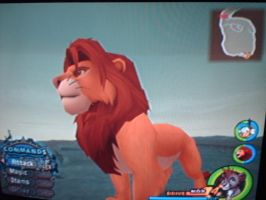 KH2-Simba in Pride Rock by Marcella-Youko