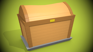 Low Poly Chest [(Game-) Asset] by CrymaOfficial
