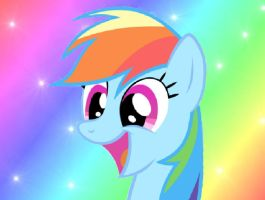 Rainbow dash smile by RATCHETSUPERFAN