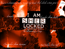 Sherlock Holmes-Irene Adler The Drumming Song WP by 14LolaLoverX3