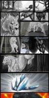 Wolf of Shadows Comic 3 by TheTyro