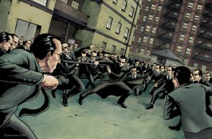 The Matrix Burly Brawl by JZINGERMAN