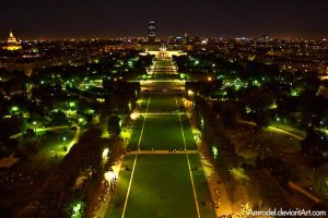 Paris at Night by amrodel