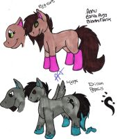 Pony Refs by AnnutheCatGirl