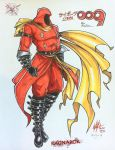 Cyborg 009 Fan fiction_Ragnarok Marker colored ^w^ by wsache007