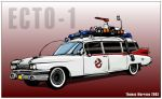 Ecto-1 by thomasthecat