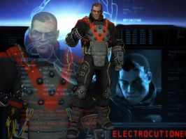 Batman: Arkham Origins - Electrocutioner by DaBiggieK