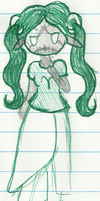 HS - Aradia Bloodswap - Doodle by Anome-chan