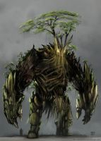Tree Beast - Earth Colossus by Devin87