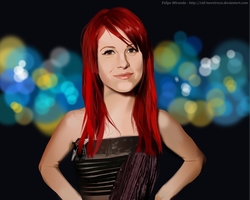 Hayley Williams by Cid-Moreira12