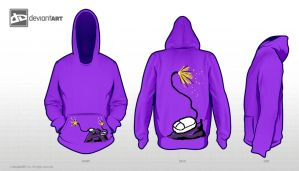 Point and Click 8Bit Hoodie Design by EiljaGorgor