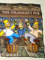 The Simpsons in Ireland by Stitches-and-Beer