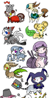 :Designs for Sale(open): by PrePAWSterous