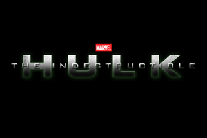 Marvel's THE INDESTRUCTIBLE HULK - LOGO V2 by MrSteiners