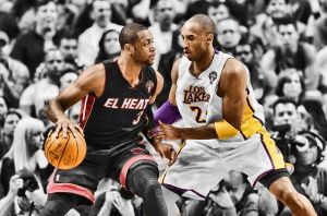 Wade vs. Kobe by roundpuff