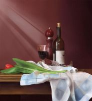 A still life composition by Emdigin
