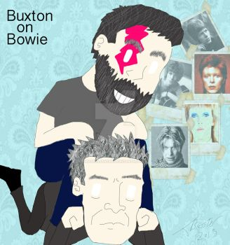 Buxton on Bowie by MASTERJAKEMAN