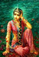 Indian Goddess - DeVi by TheArtist100