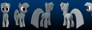 WIP MLP 3D Twilight 03 by WarePWn3