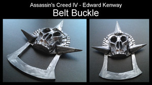 Assassin's Creed IV - Edward Kenway - Belt Buckle by Trujin