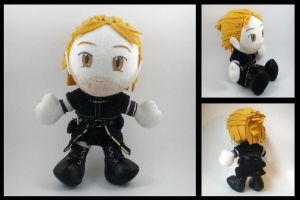 Dragon Age 2 - Anders plushie by eitanya