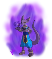 Dragon Ball Z Battle of Gods - Lord Bills by Stu-Jojo