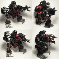 Zoids Bionicle Kitbash DSaur by whodagoose