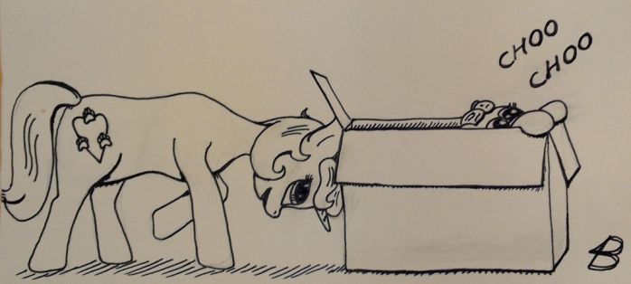 Box day - Inktober 26 2016 by BikeBrony