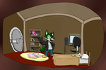 Emerald's Room Commission by timsplosion