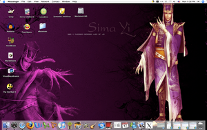 Self made Sima Yi wallpaper by CrazyInsaneJess
