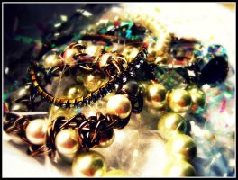 Pearls and Jewels by InspIred-Ace