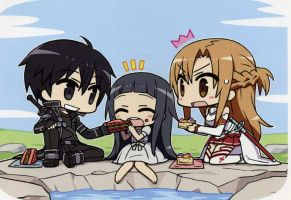 SAO - Family Picnic by DominLoL