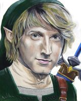 Fran Kranz as Link by WolfenM