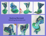 Basking Mermaid - SOLD by Bittythings