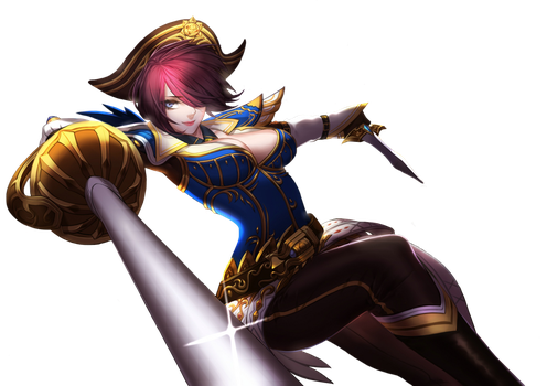 Fiora Fan Art Render by SnOwInWiNtEr