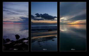 Three Consecutive Sunsets by IvanAndreevich
