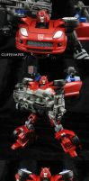 Custom Transformers Cliffjumper by Jin-Saotome