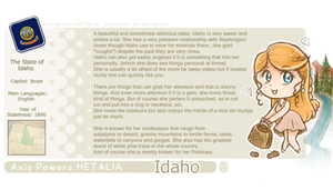 Idaho Template by NikkoTakishima