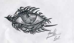 mechanical eye by JOVictory