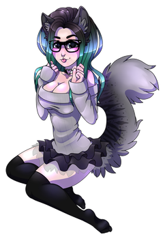 RageKittyx [REQUEST] by DarkZiify