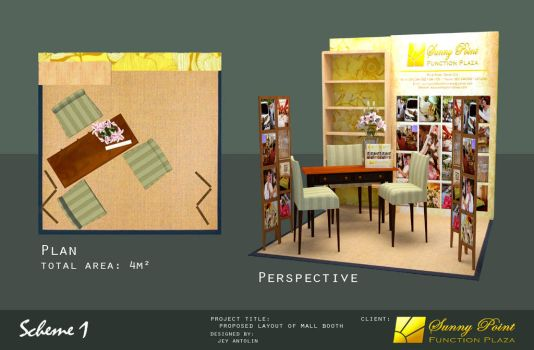 SUNNY POINT FUNCTION PLAZA MALL BOOTH - SCHEME 1 by rj-king