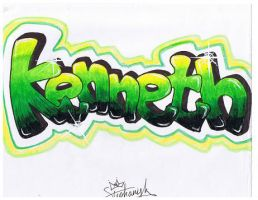 'Kenneth'. by Kaypearl