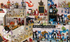My whole Digimon Collection by digiegg