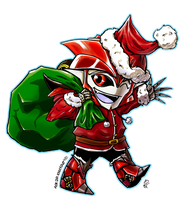 Santa's Little Helper by Laserbot