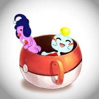 Pokecup Mime Junior - Chimecho by Jezrocket