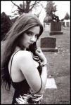 Marissa rose and tombstones by woodeye