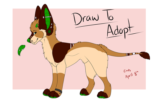 Draw To Adopt by CinnabarTheDog