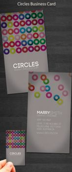 Circles business card by kimi1122