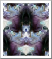 Lilac Abstract by GypsyH